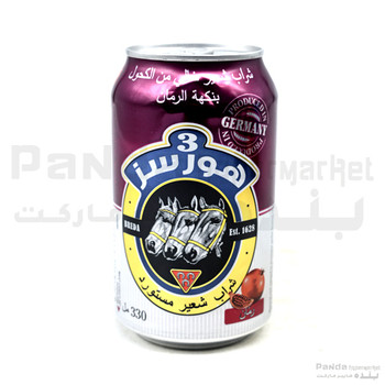 3Horses Flavour Can Pomo 330ml