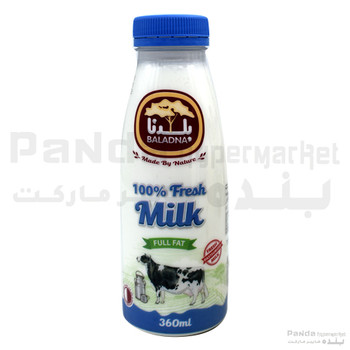 Baladna Fresh Milk 360 ml