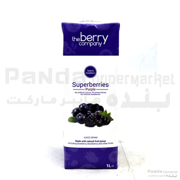 The Berry Company Superberries Purple Juice 1ltr