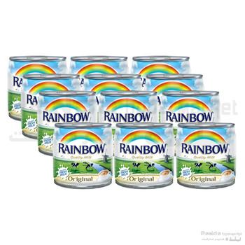 Rainbow Evapurated Milk Original Fortified170gX12Pcs Pack