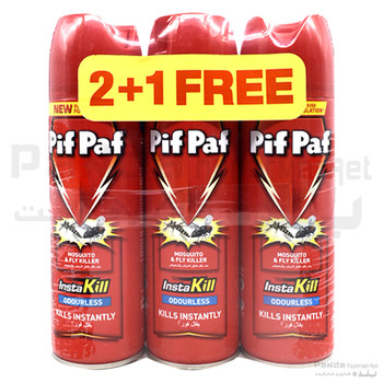 Pifpaf Mosquito&Fly killer Odourless 300ml 2+1