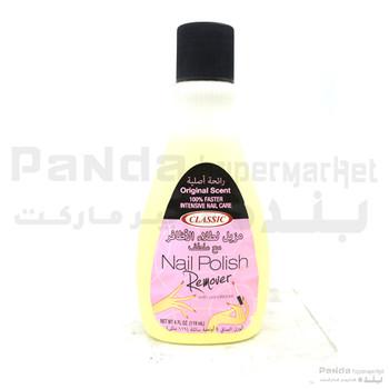 Nail Polish Remover - Original Scent  4Oz