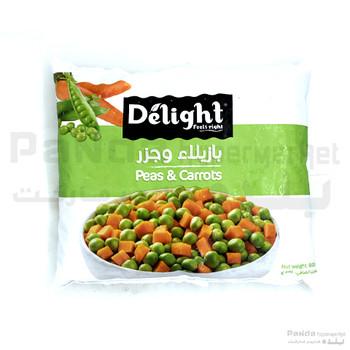 Delight Peas & Carrot 800g