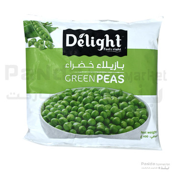 Delight Green Peas 400g