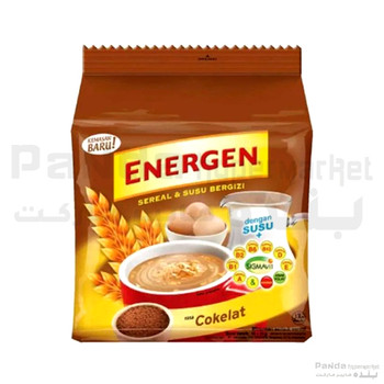 Ph Energen Cereal & Susu Nutrition Chocolate 29gmX10Pcs
