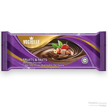 Vochelle Block Fruit&Nuts 40Gm