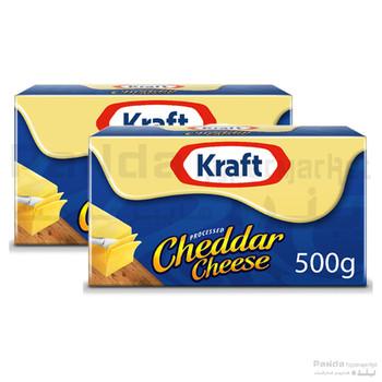 Kraft Cheddar Cheese2X500gm
