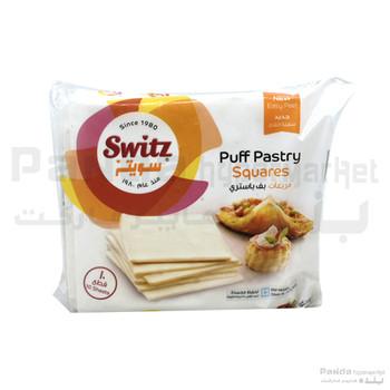Switz pre/Puf pastry Squre400Gm