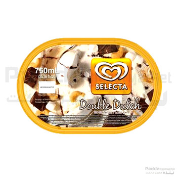 Selecta Double Dutch Ice Cream 750ml