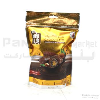 Wafia Milk Choco Dates Pouch 200 Gm