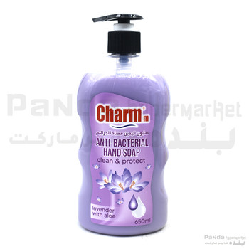 Charmm Anti-Bacterial Hand Soap Lavender 650ml