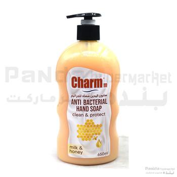 Charmm Anti-Bacterial Hand Soap Milk & Honey 650ml