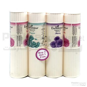Enchanteur Perfumed Talc 250gmX4pcs
