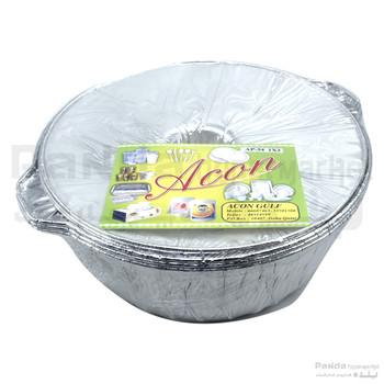 Aluminum Pot AP 34 -3pcs