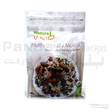 Organic Frutty & Nuty Muesli 400g