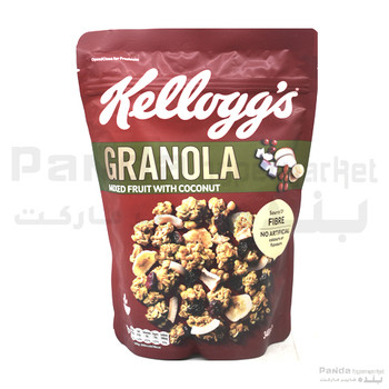 Kelloggs Granola Mixed Fruit With Coconut 340gm