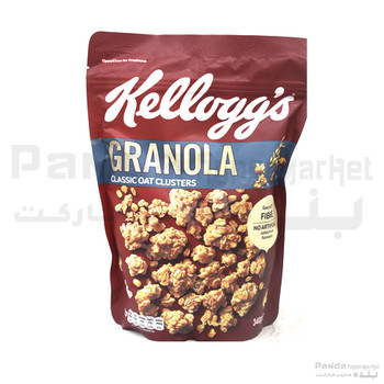 Kelloggs Granola Classic Oat Clusters340gm