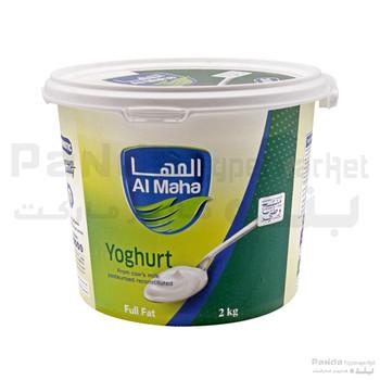 Al Maha plain  Yoghurt full fat 2 kg