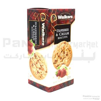 Walkers Straberries & Cream 150gm