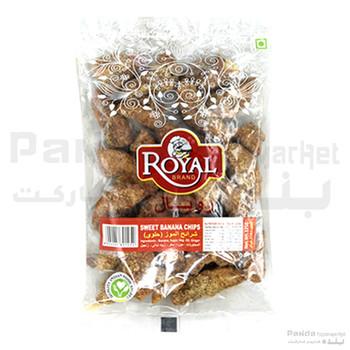 Royal Sweet Banana Chips 125gm