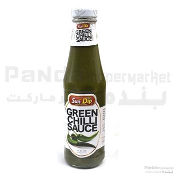 Sundip Green Chilli Sauce 330gm