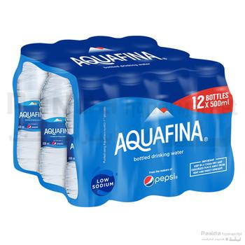 Aquafina Water 500ml  X12Pcs