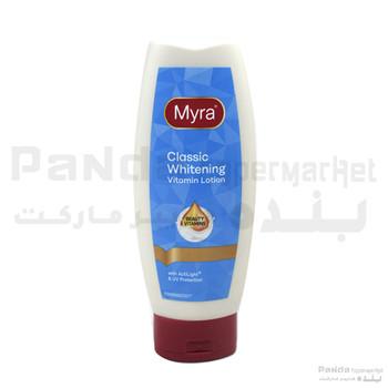 Myra Classic Whitening Vitamin Lotion 200Ml #3268