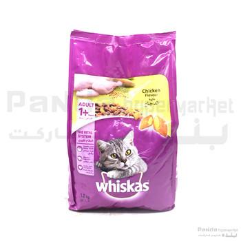 Whiskas Chicken Cat Food 1.2kg