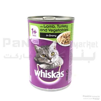 Whiskas Lamb Minced Tin Cat Food 400gm
