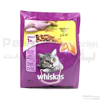 Whiskas Chicken Tin Cat Food 480gm