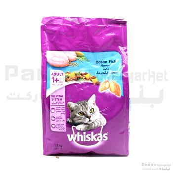 Whiskas ocean fish Cat Food 1.2kg
