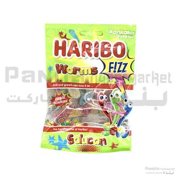 Haribo Fizz Worms 70gm