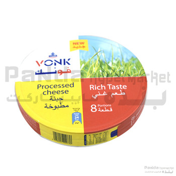 Vonk Processed Cheese Tri8pc120gm