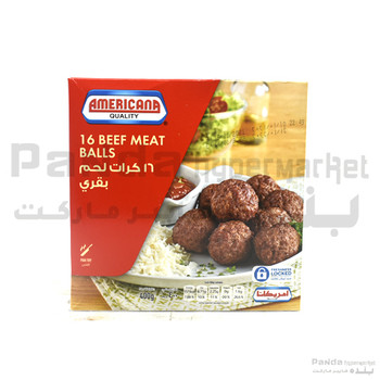 Americana beef Meat Balls 400g