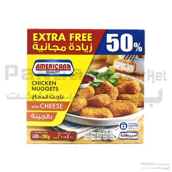 Americana Cheese nuggets 400g+200g