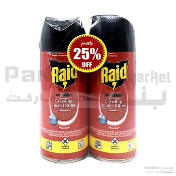 Raid Cik Insect Killer 300ml X 2Pcs 25%off