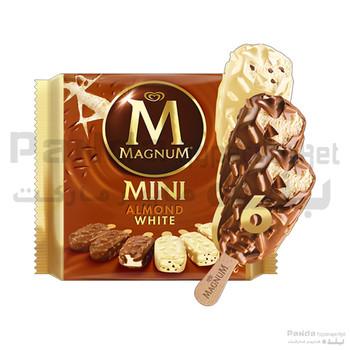 Magnum Chocolates mini almond white 345ml