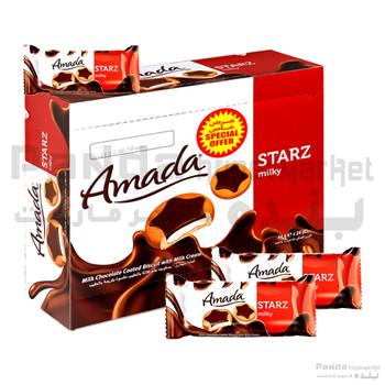 Amada Starz Milk Biscuits SP 44gX24