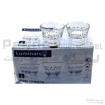 Luminarc Kawa Cup Lovinette 6 Cl - 12 Pcs set