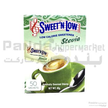 Sweet N Low Stevia 50s