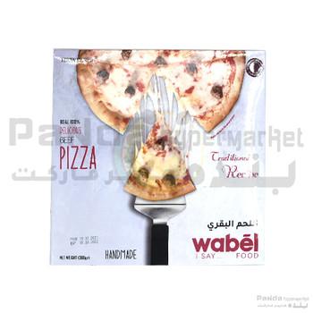 Wabel Pizza Beef 360Gm