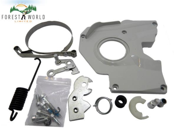 STIHL 038 038 AV 038 MAGNUM MS380 complete handbrake set,all parts included