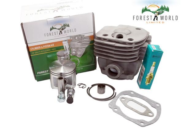 Cylinder kit,50 mm for HUSQVARNA 365 372 371 362,by FOREST WORLD,503 93 9372