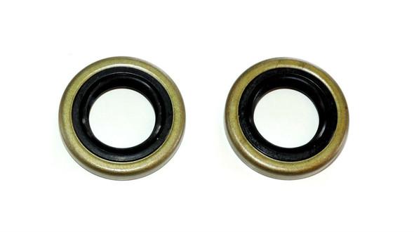 2 pcs Crankshaft bearings & seals set for Husqvarna 362 365 371 372 372XP Made in JAPAN,OEM 738 22 02-25, 505 27 57-19