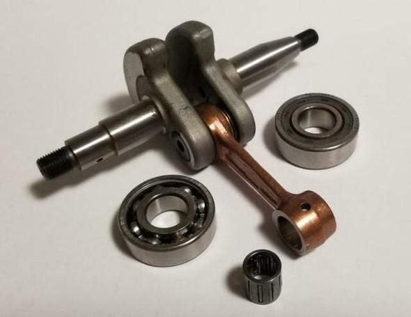Husqvarna 351 353 346xp, Jonsered CS2152, CS2153 crankshaft with main bearings (set) 504206802