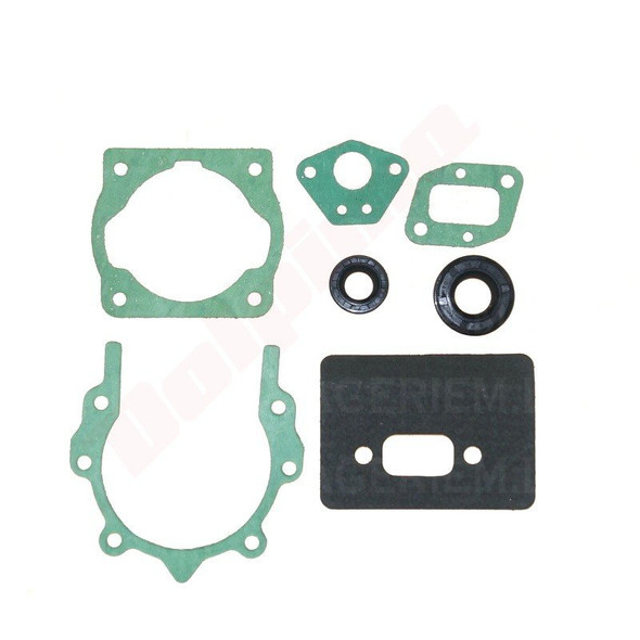 Full gasket set with oil seals for Chinese 43 cc, 52 cc 58 cc brushcutters