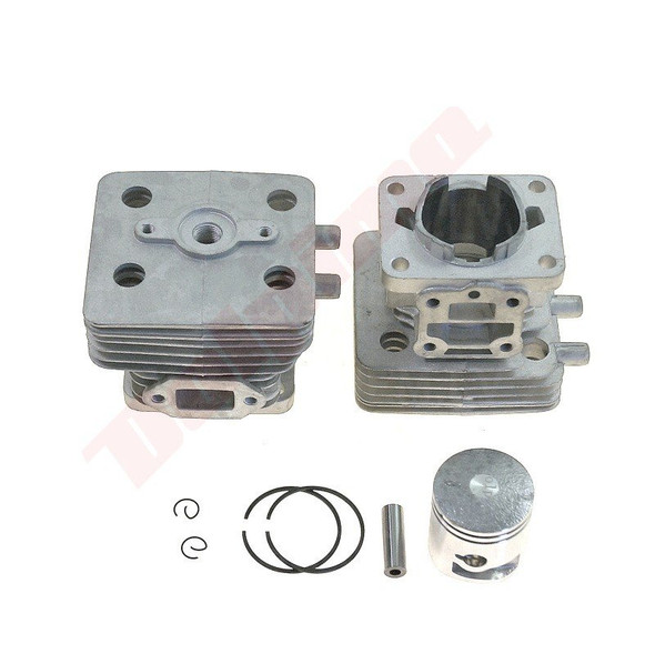 Cylinder and piston kit for Chinese 6010, 7510 hedge cutter strimmer 34 mm bore