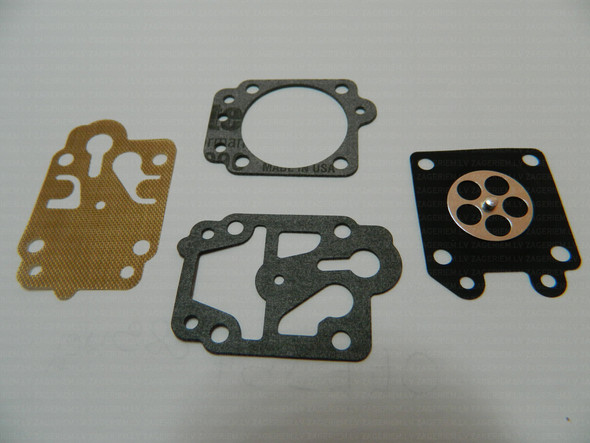 Carburettor rebuild kit for Chinese 43 cc 52 cc 58 cc brushcutter carburettors