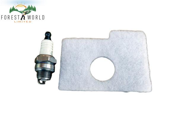 Stihl 017,018,MS 170,MS180 service kit,spark plug & air filter