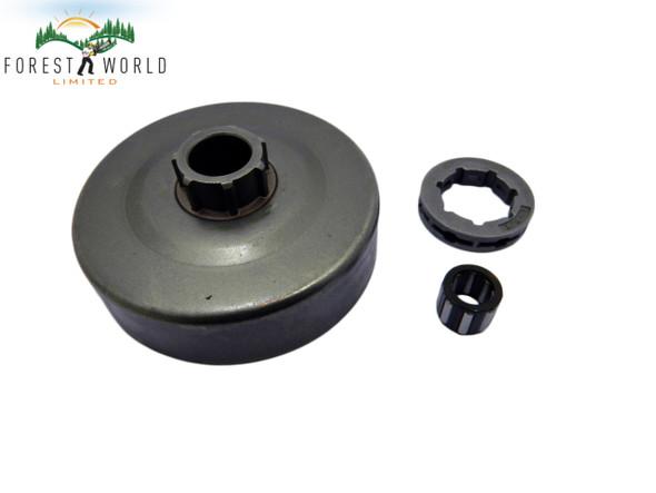 Stihl MS660 066 064 chainsaw clutch drum with rim sprocket & bearing,3/8 -7